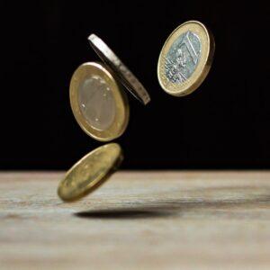 飛び跳ねれるコイン
