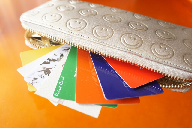 財布に入ったカード