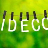 IDECO文字のブロック
