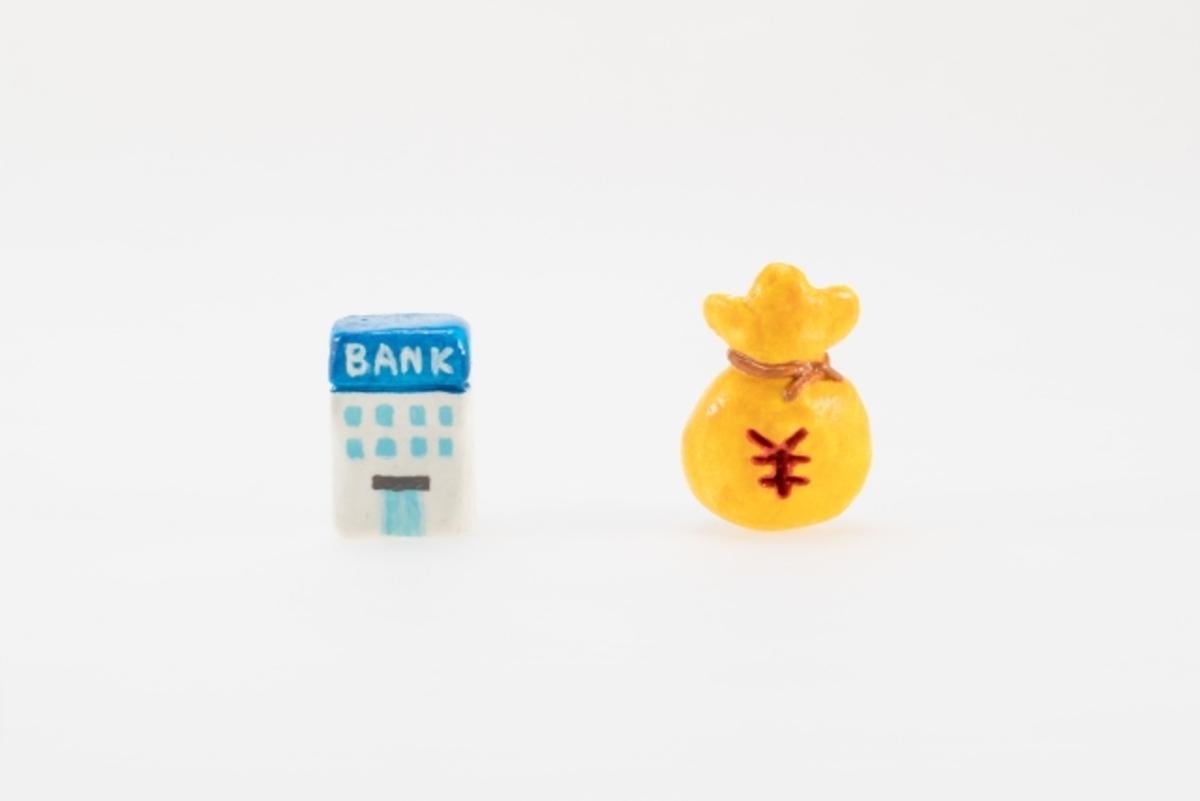 BANKと¥の図
