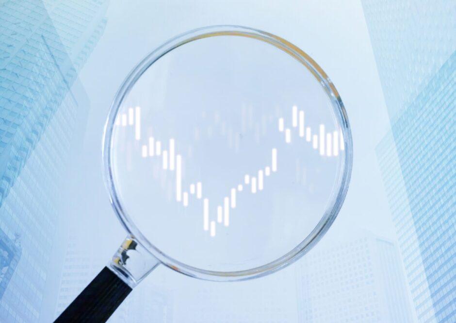 投資とトレンドのイメージ