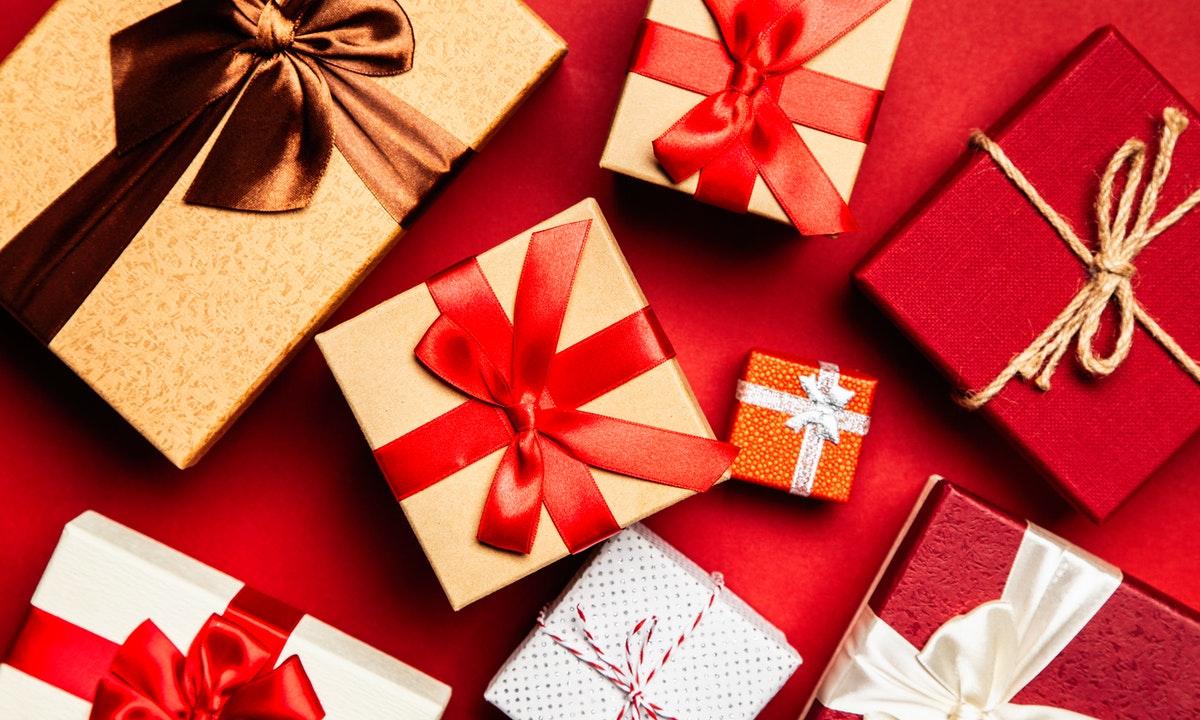 複数のプレゼントのイメージ