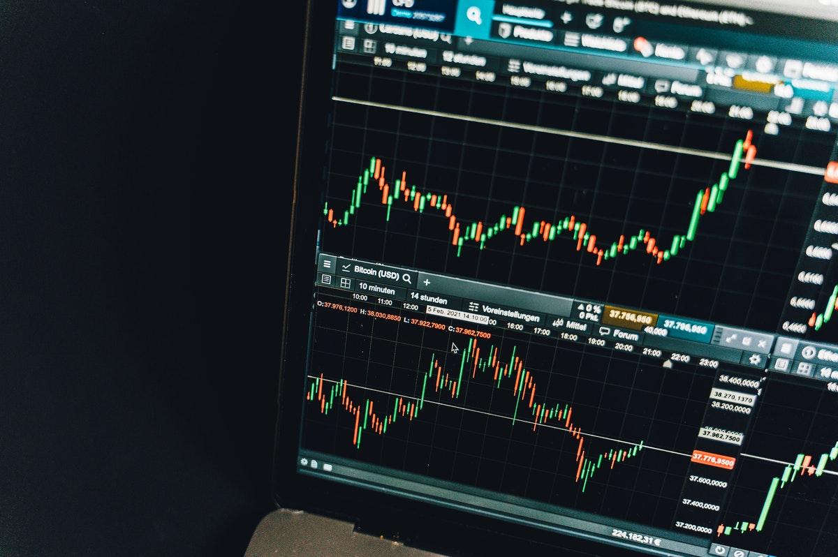 株式チャートのイメージ
